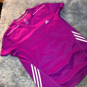 Adidas Shirt Sleeve Athletic Top